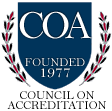 logo: council on accreditation